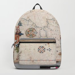 Europe And Northen Africa 1619 Backpack