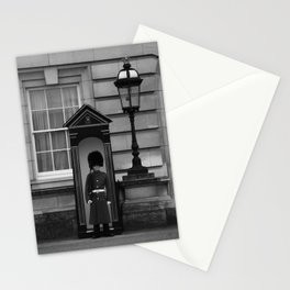 Beefeater Guard at Buckingham Palace Stationery Cards
