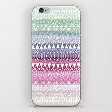Triangle Gradient Mix iPhone & iPod Skin
