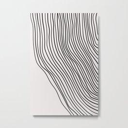 Line Drawing,Line Art,Abstract Art Print,Black and White Print,Line Art Print,Abstract Wall Art,Wall Metal Print