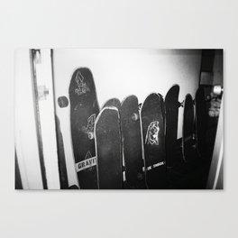 Skate House Canvas Print