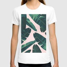 Banana Leaves - Cali Vibes #1 #tropical #decor #art #society6 T-shirt