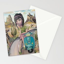 Lost road Stationery Cards