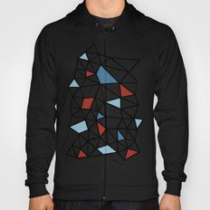Segment Red and Blue Hoody