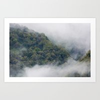 fog Art Prints featuring Fog by Michelle McConnell
