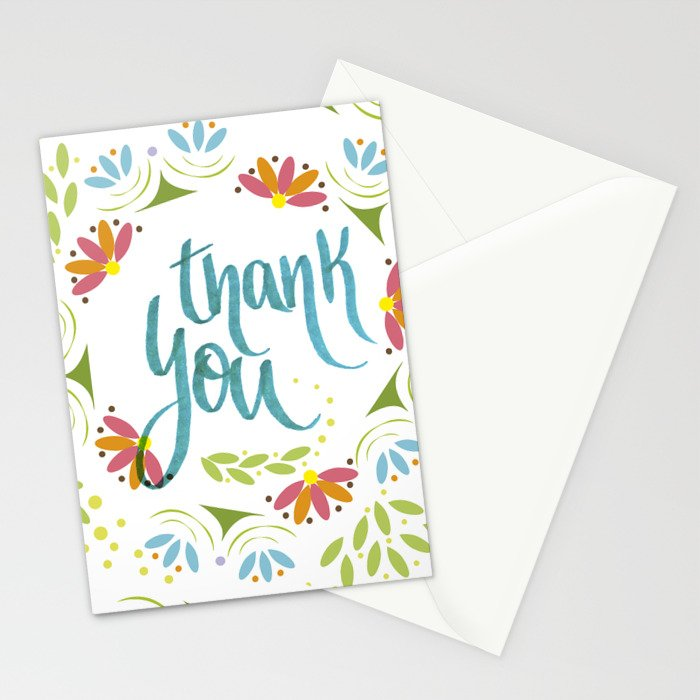 Thank you! Stationery Cards