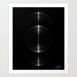 Sonic Waves Art Print
