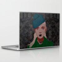 noir Laptop & iPad Skins featuring Noir by Eveline