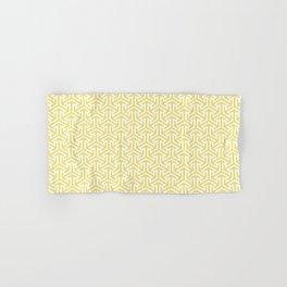 Yellow Stitches Hand & Bath Towel