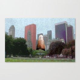 N.Y.C Central Park Canvas Print