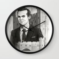 moriarty Wall Clocks featuring Moriarty by RileyStark