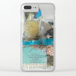 Pondering Flight Clear iPhone Case