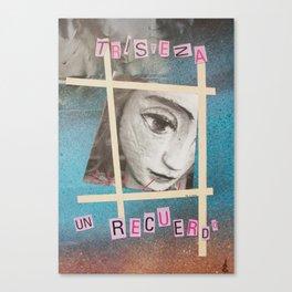 Sadnes Canvas Print