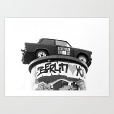 Love You Berlin Art Print