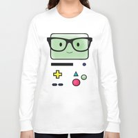 bmo Long Sleeve T-shirts featuring BMO  by Diore-Château