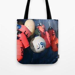 Fishing Buoy Photography Print Tote Bag