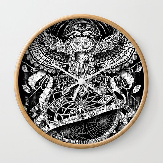 Dream Quest Wall Clock