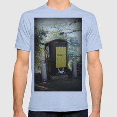 Dunny - Outback Queensland Humour :) Mens Fitted Tee Athletic Blue SMALL