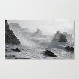 Wipeout Chutes at Mammoth Canvas Print