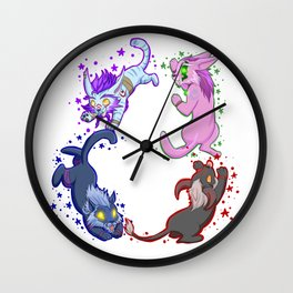 Team Feral Wall Clock