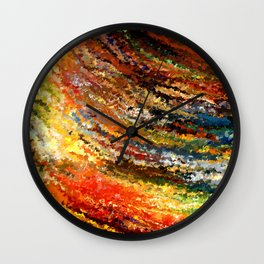 modern composition 07 by rafi talby Wall Clock