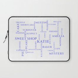Amish Sweet Shop Mysteries Word Puzzle Laptop Sleeve