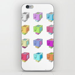 Cubeheds ( available for t-shirts ) iPhone Skin