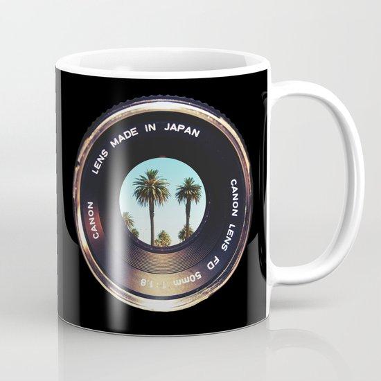 focus on palms Mug
