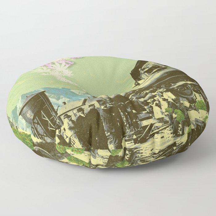 TRAINWRECK Floor Pillow
