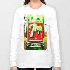 Classic 7 Up bottle Long Sleeve T-shirt