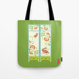 Chinese Antique - Panels Tote Bag
