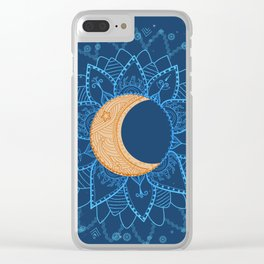 moon shine Clear iPhone Case