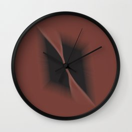 Peers into the darkness Wall Clock
