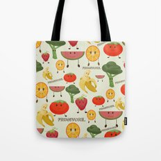 Fruity Collage Tote Bag