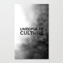 """Seedy Underbelly"" Unpopular Culture Canvas Print"