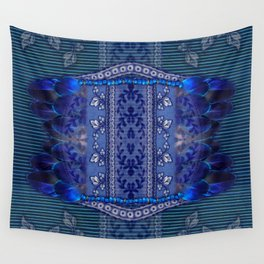 Indigo Fetish Wall Tapestry