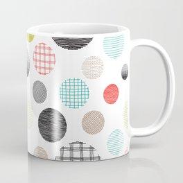 Drawn Circles Coffee Mug