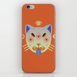 Mystic Cat iPhone Skin
