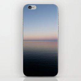muted calmness iPhone Skin