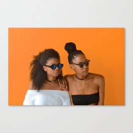 Melanin Queens Canvas Print