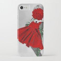RED CARNATION Slim Case iPhone 7