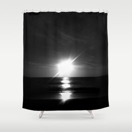 Oceanic landscape: Lacanau  9 Shower Curtain