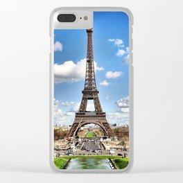 Paris - World Big City Clear iPhone Case