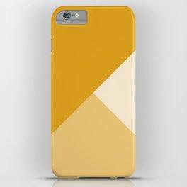 Mustard Tones iPhone Case