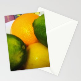 Lemon Lime Still Life Stationery Cards
