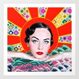 Idda Van Munster Pop Art Abstract 2 Art Print