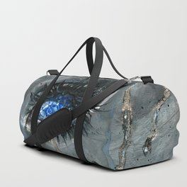 Gzhel Duffle Bag