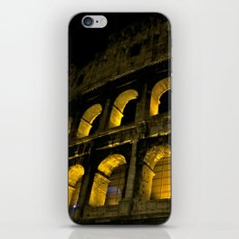 The Colosseum at Night, Rome iPhone Skin