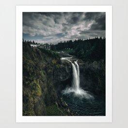 Twin Peaks Great Northern Hotel Art Print