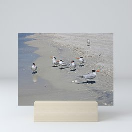 No Swimming Yet, Kids...Where IS Your Mother? Mini Art Print